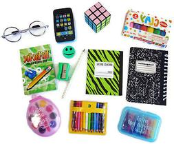 "School Supplies Set for 18"" American Girl Dolls Accessories"