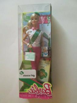 Girl Scout Barbie with Cookies  NEW IN BOX