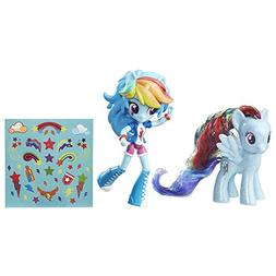 My Little Pony Rainbow Dash Toys - Glitter Pony & Equestria