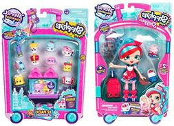 Shopkins Season 8 World Vacation Shoppie Doll Jessicake PLUS