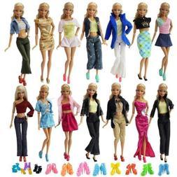 ZITA ELEMENT Lot 10 Set Mix Style Fashion Handmade Clothes O