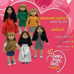 The New York Doll Collection Set of 11 pc for American Girl