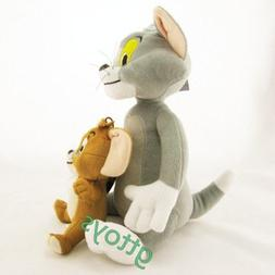2pcs/set Baby Toys Cat Tom And Jerry Mouse Plush Stuffed Toy