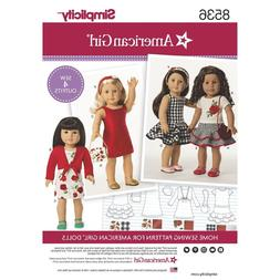 SEWING PATTERN! AMERICAN GIRL DESIGNS FOR DOLLS! OUTFITS FIT