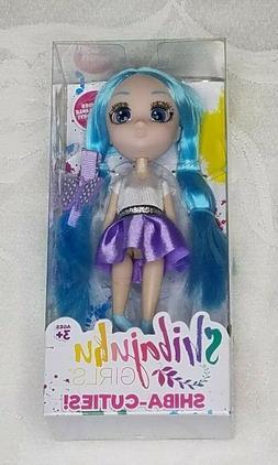 "Shibajuku Girls Shiba Cuties Namika Version 2 Doll 6"" Rare I"
