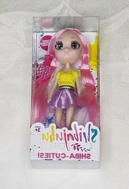 """Shibajuku Girls Shiba Cuties Suki Version 2 Doll 6"""" Rare Ite"""