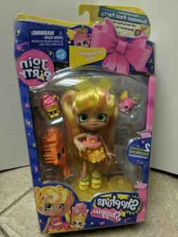 Shopkins Join the Party ~ Pineapple Lily Shoppies Doll w/2 E