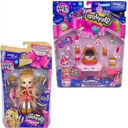 Shopkins Join the Party ~ Tiara Sparkles Shoppies Doll + Pri