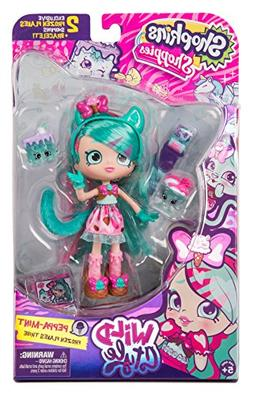 Shopkins Shoppies Wild Style Doll - Peppa-Mint