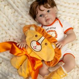 Paradise Galleries Silicone Reborn Baby Boy Doll Fiercely Lo