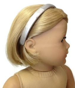 "Silver Headband made for 18"" American Girl Doll Clothes Acce"