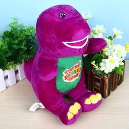 """Singing Barney 12"""" I LOVE YOU Plush Doll Toy Gift For Kids C"""
