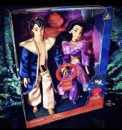 Disney Store Singing Duet Doll Set Aladdin & Jasmine A Whole