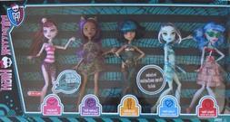 Monster High SKULL SHORES 5 DOLL Set w 3 EXCLUSIVE DOLLS Fra