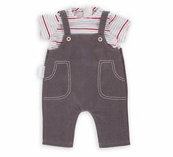"Corolle 14"" Smock & Denim Overall Baby Doll"