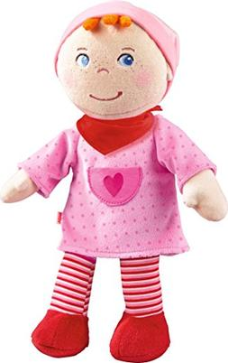 "HABA Snug up Doll Inga 11.5"" Soft Doll with Embroidered Face"
