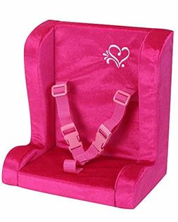 soft car dolls Pink Doll Car Seat for 18 Inch for girl games