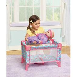 Soft Comfortable Easy Care My Sweet Love Folding Play Pen -