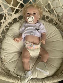 Soft Silicone Full Body Baby Dolls Reborn Toddler Girl Anato