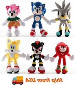 Sonic the Hedgehog Sonic Plush Toy Stuffed Doll Kids Gifts