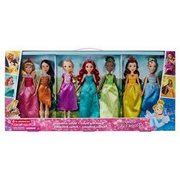 Disney Princess Sparkling Styles Set of 7 Dolls