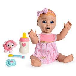 Spinmaster Luvabella - Blonde Hair - Responsive Baby Doll wi