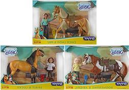 Breyer Spirit Riding Free Large Gift Sets Bundle - Set of 3