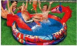 Spring & Summer Toys Banzai Slide 'N Spray Dragon Pool-a Poo