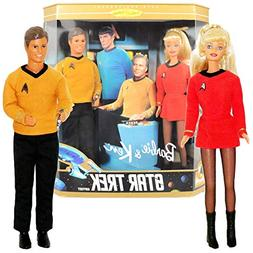 Star Trek Barbie & Ken Gift Set Collectors Edition 1996 MATT