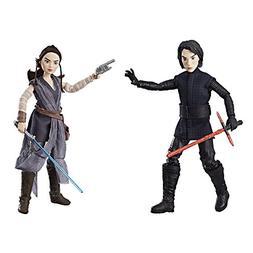 Star Wars Forces of Destiny Rey of Jakku and Kylo Ren Figure