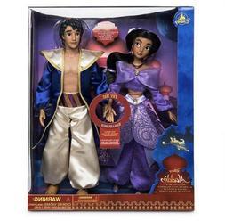 Disney Store Aladdin & Jasmine Singing Duet Doll Set New In