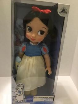 Disney Store Animators' Collection SNOW WHITE DOLL 16'' & BL