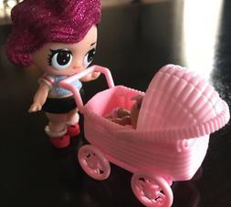 Stroller for an LOL Little Sister, LOL Accessory