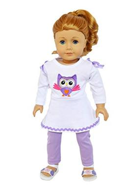 Brittany's Summer Owl with Sandals Fits 18 Inch Dolls-Compat