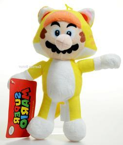 super mario 8 inch tanooki stuffed plush