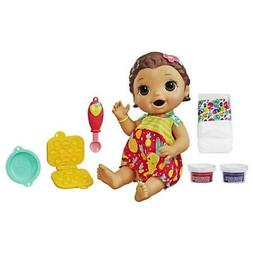 Baby Alive Super Snacks Snackin' Lily Baby: Blonde Baby Do