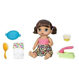New! Baby Alive Super Snacks Snackin' Noodles Baby Doll - Br