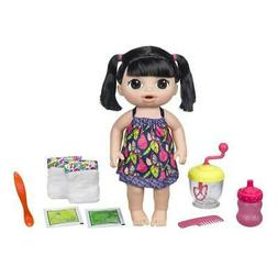 Baby Alive Sweet Spoonfuls Baby - Black Straight Hair