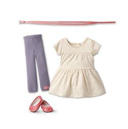 "American Girl T-Shirt Tunic Dress Outfit for 18"" Isabelle Do"