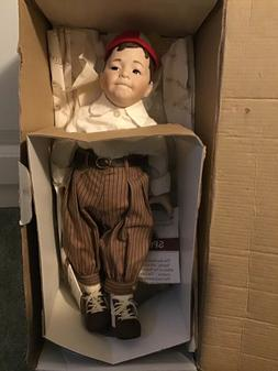 The Little Rascals~Spanky Doll -15 Inch Porcelain - 1993 The