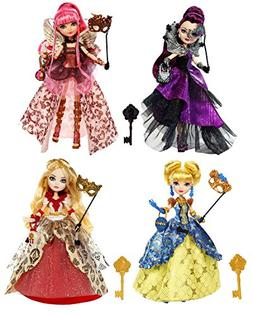 Ever After High Thronecoming Complete Set of 4 Dolls - Raven
