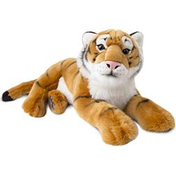 FAO Schwarz Tiger Cub Toy Plush 12 Inches, Ultra Soft and Sn