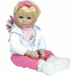 "Adora Toddler ""Rainbow Unicorn"" 20"" Girl Weighted Doll Gift"