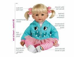 Adora ToddlerTime Doll Little Monster Blonde Hair Blue Eyes