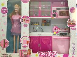 Toys for Girls 5 6 7 8 9 10 Year Old Kids Kitchen Playset Wi