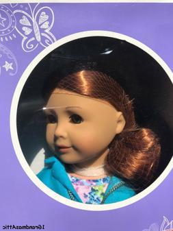 American Girl Truly Me Doll 61 Light Skin Red Hair Green Eye