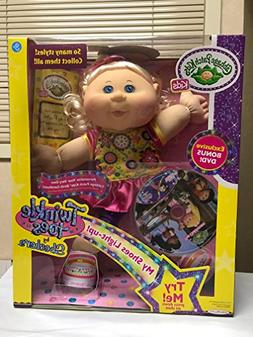 Cabbage Patch Kids Twinkle Toes By Skechers Blond Hair Blue
