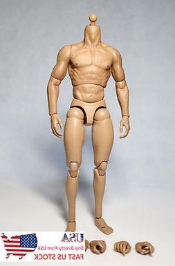 U.S. Shipping ZC toys 1/6 Perfect Wolverine Male Figure Body
