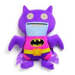 "Ugly Dolls DC Comics 11"" Plush: Pink/Purple Ice-Bat Batman"