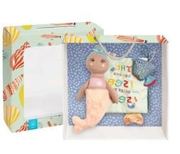 Manhattan Toy Under the Sea Gift Set Soft Book with Mermaid
